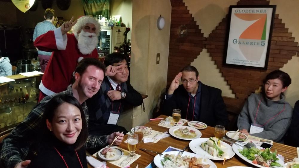 2018 英語落語&Christmas party